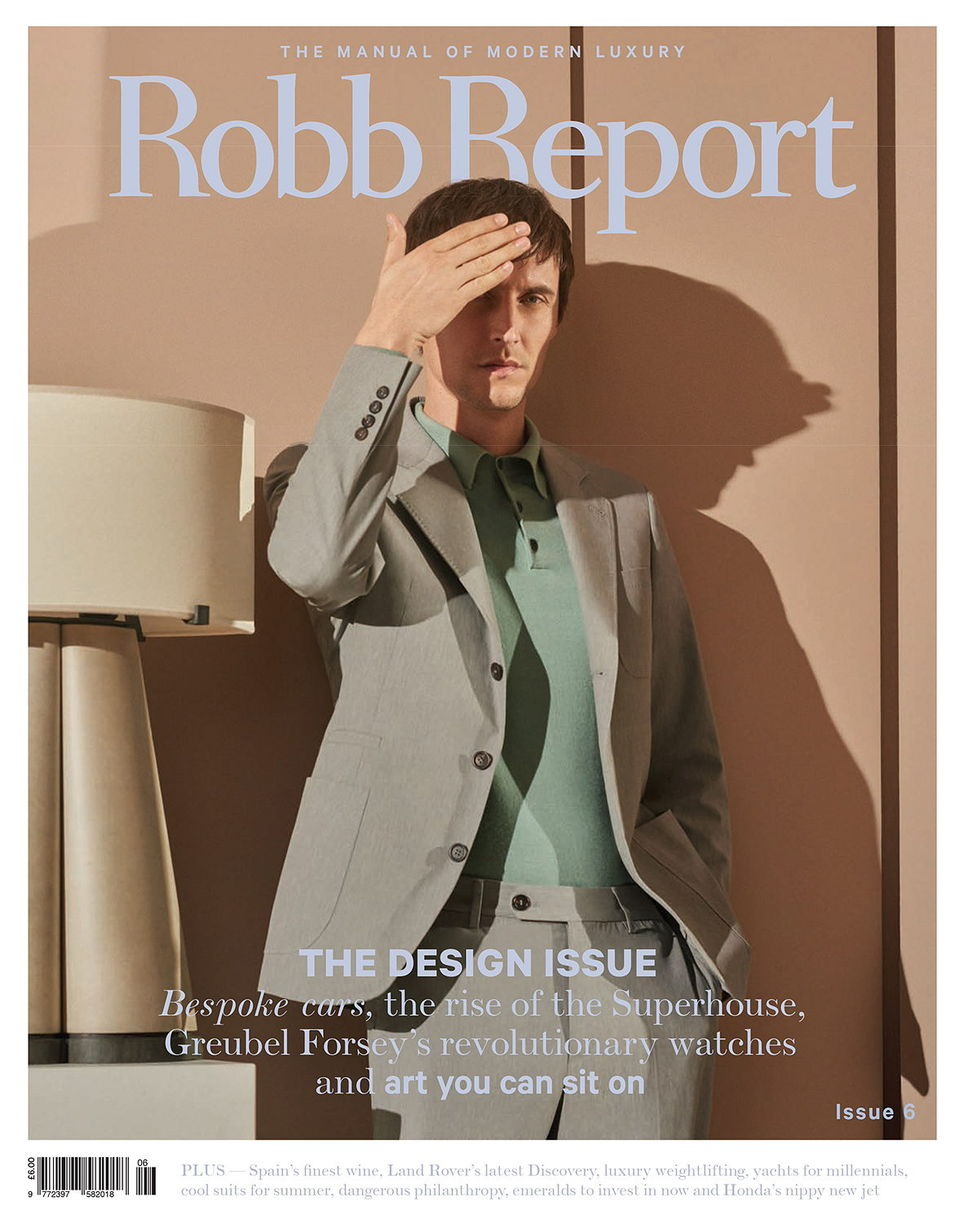 Cover for Robb Report UK